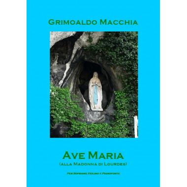 Ave Maria alla madonna di Lourdes
