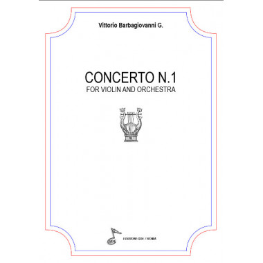 Concerto N.1 for Violin And Orchestra (free sheet music)